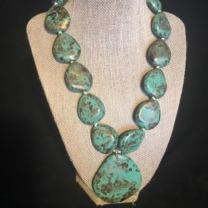 Jewelry - 💙💙 Faux Turquoise Statement Necklace 💙💙